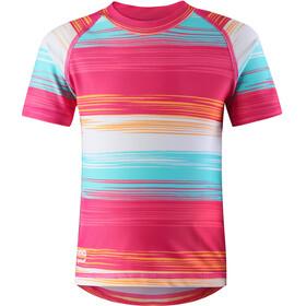 Reima Kids Azores Swim Shirts Candy Pink